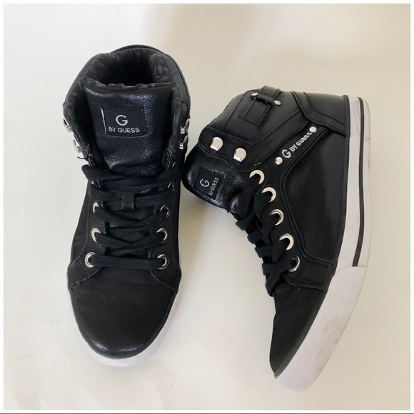 be9608b1b G by Guess Shoes - G by Guess Opia High Top Sneaker Size 7 M Black